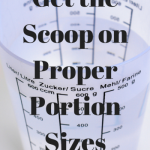 The Scoop on Proper Portion Sizes/ 30 Day Fitness Challenge: Day 5