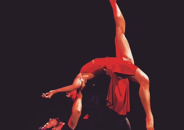 "Performing the duet ""Givin' Up"" with Branson Bice. Photography by: Mike Strong #dance #contemporarydance #moderndance #kcdance"