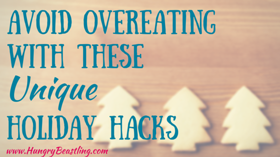 Overeating and the holidays seem to go hand in hand, BUT it doesn't have to be that way. These hacks will help keep your weight loss goals on track!