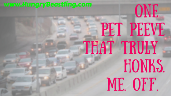 One Pet Peeve That Truly Honks Me Off (5)
